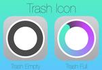 iOS 7 style Trash Icon