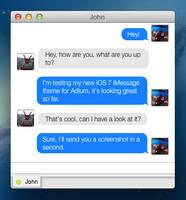iOS 7 iMessage for Adium