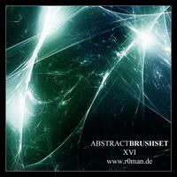 Abstract Brushset XVI by r0man-de