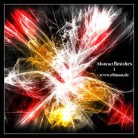 Abstract Brushset 1 - GIMP by r0man-de