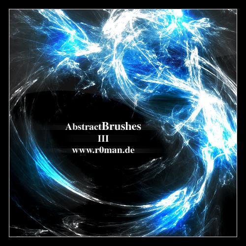 Abstract Brushset 3 - GIMP by r0man-de