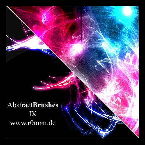 Abstract Brushset 9 - GIMP