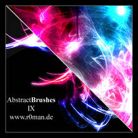 Abstract Brushset 9 - GIMP by r0man-de