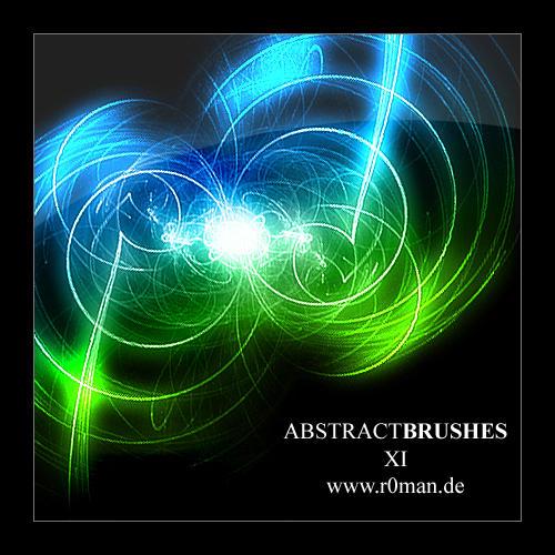 Abstract Brushset 11 - GIMP by r0man-de