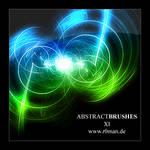 Abstract Brushset 11 - GIMP