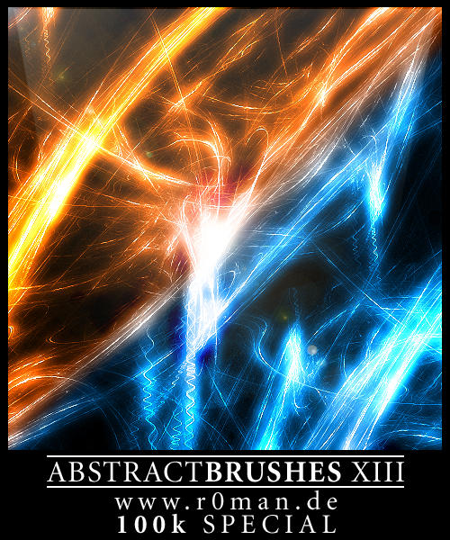 Abstract Brushset 13 - GIMP by r0man-de
