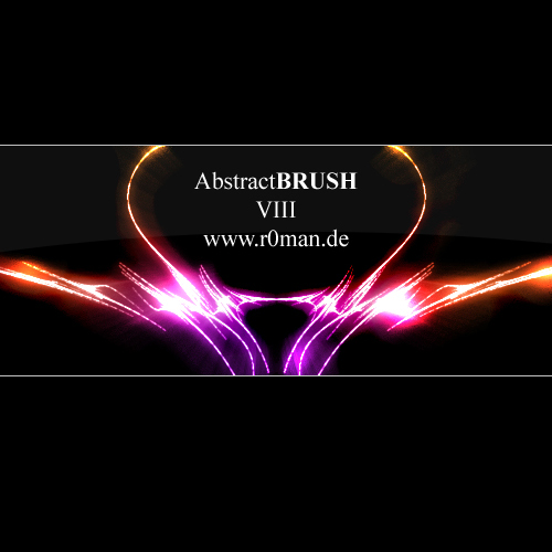 Abstract brush VIII