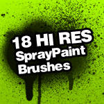 Spray Paint Splatter Brushes by itsJ2o