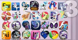 Pony Icon Set 3