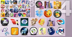 Pony Icon Set 4