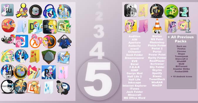 Pony Icon Set 5