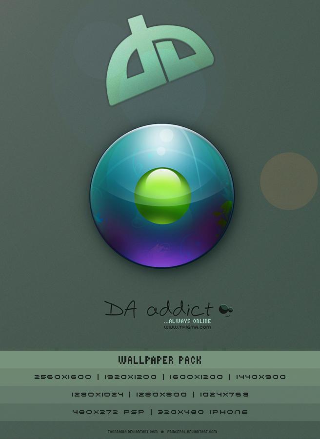 DA addict - Wallpaper Pack by princepal