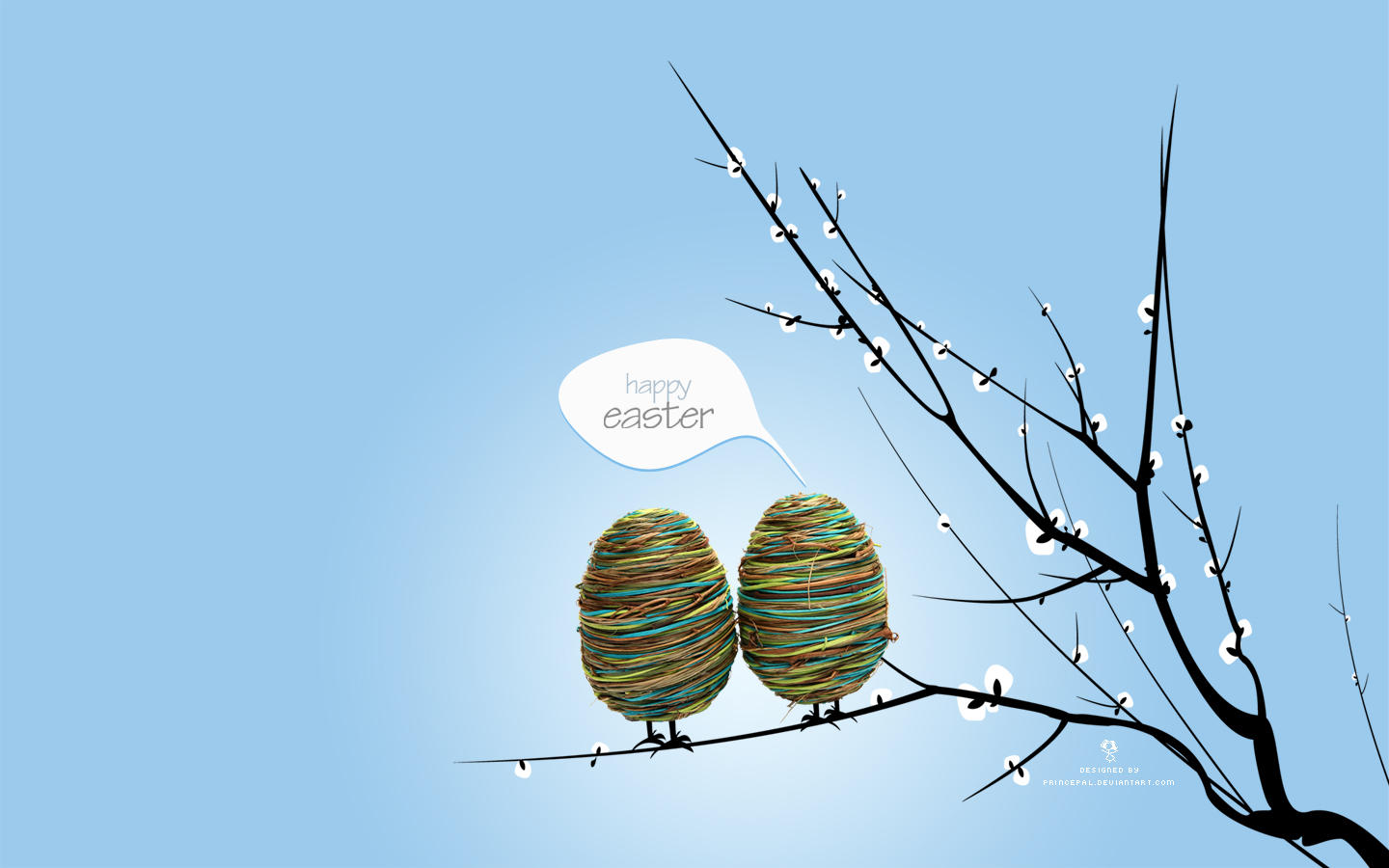Happy Easter - Wallpaper Pack by princepal