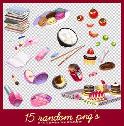 15 random png's