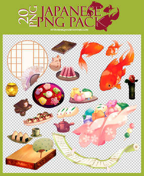 Japanese png pack | 20 png