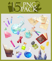 15 png pack