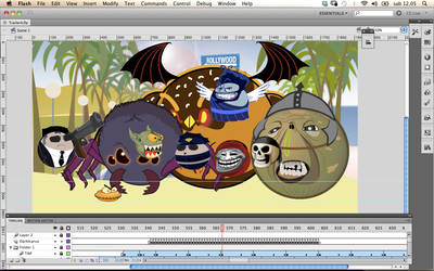 Rolling Monster Samba by Frandali