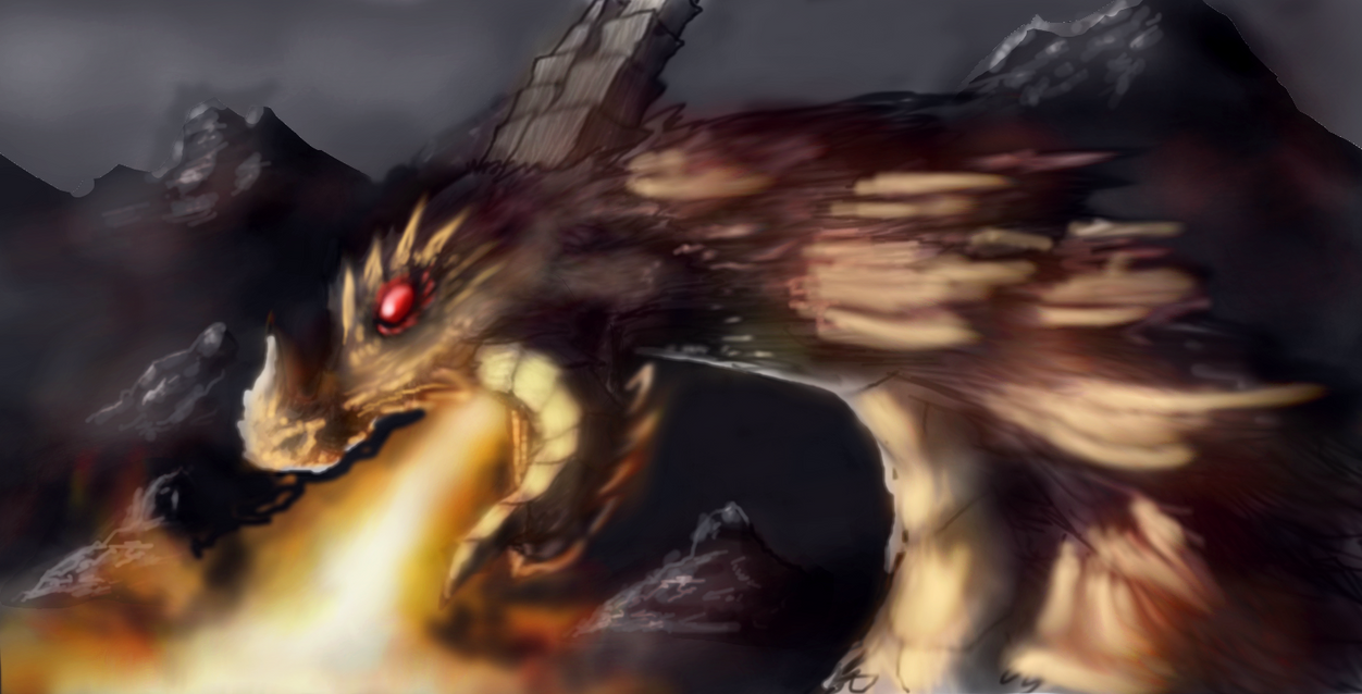 Fire Dragon by CaptainFaybs