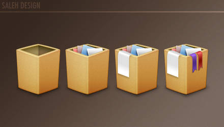 Trash Box by Salehhh
