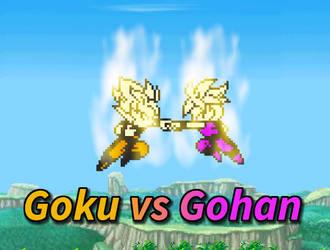 Goku and Gohan Train (unrust)