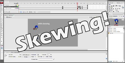 Sprite Animation Principle #1 - Skewing