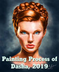 Dasha, 2019 Gif Painting Process