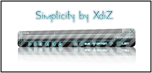 Simplicity Skin for Bsplayer by XdiZ