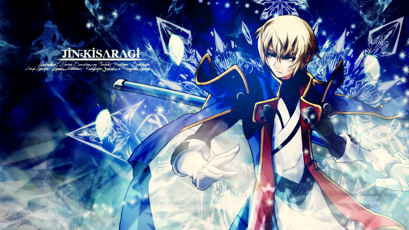 Blazblue Jin Kisaragi Wallpaper By Kayarine On Deviantart