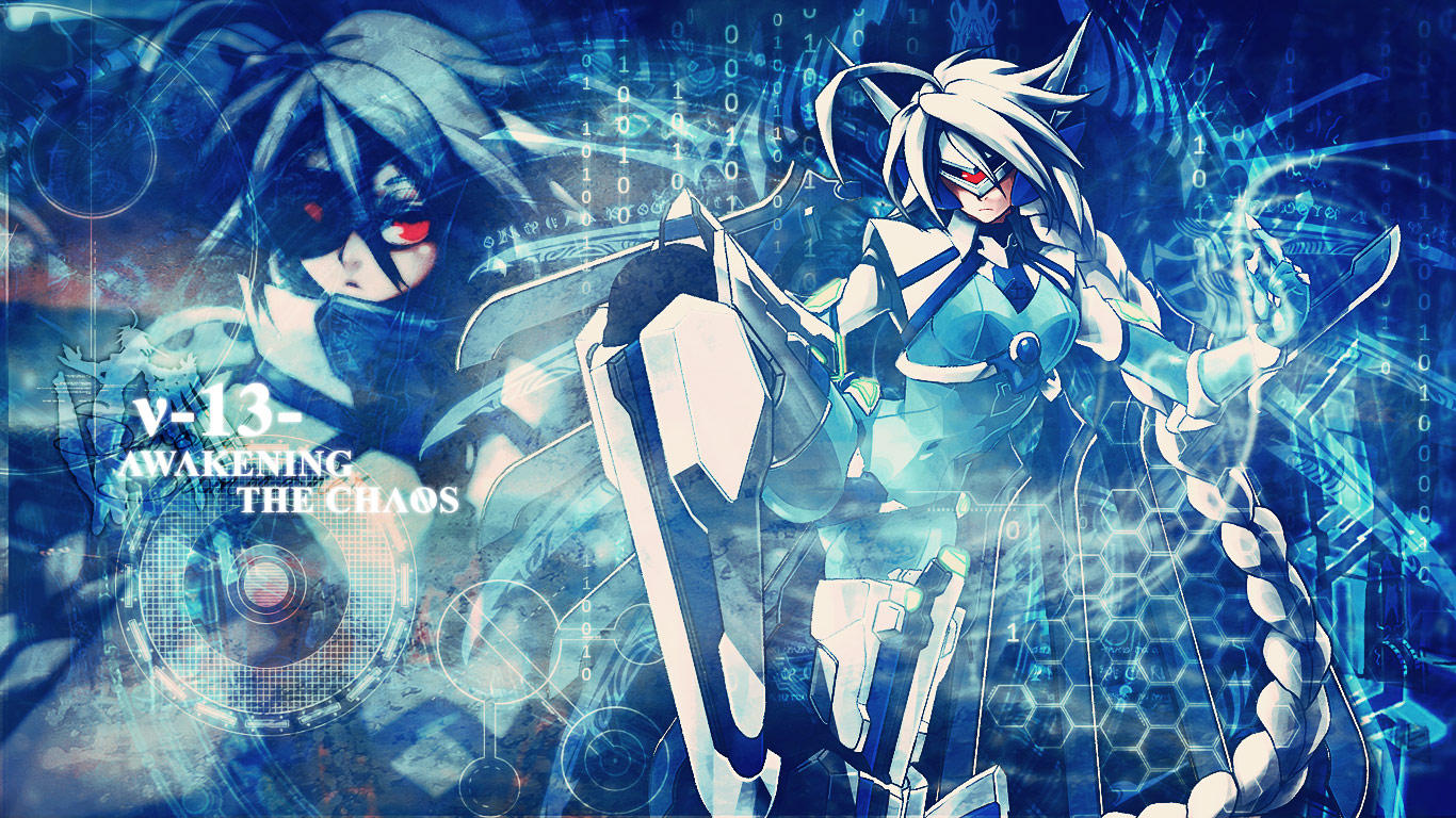 V 13 Blazblue BlazBlue - v-13 wallpaper