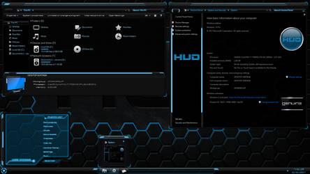 HUD for Windows 10 Creators - April 2018 Update by Shemhamforash01