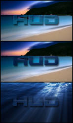 HUD On the Beach by Shemhamforash01