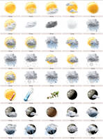 Weather Touch Icons - Weather7 by mohitg