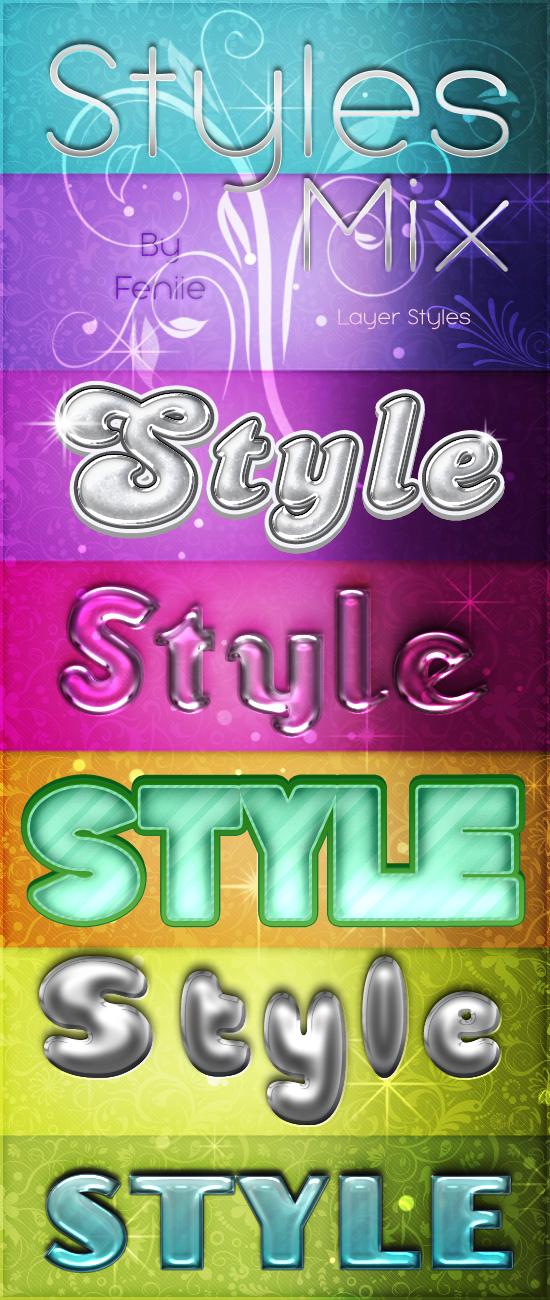 Photoshop Free Styles Mix