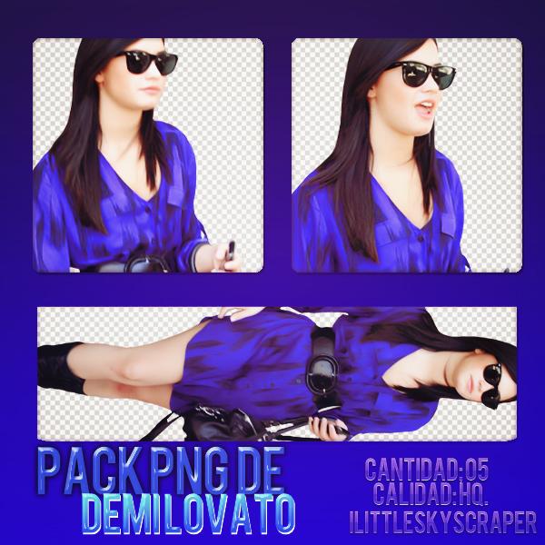 Demi Lovato Pack png | 02 by iLittleSkyscraper