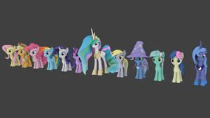 Cheerilee's Gmod Ponies for Blender Ver. 2.0