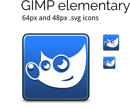 GIMP icons for elementary OS by ennui-illustrator