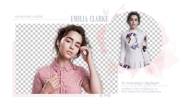 Pack Png 275 - Emilia Clarke by SensePngs
