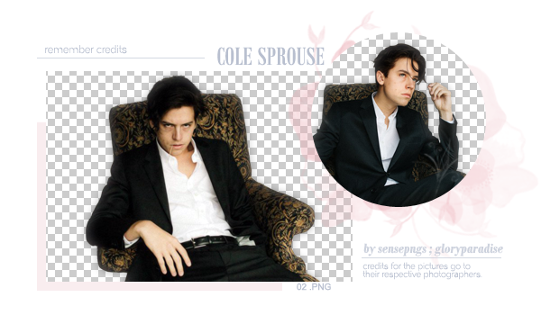 Pack Png 302 - Cole Sprouse by SensePngs