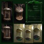 Cage set wicasa-stock