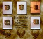 Bracelet set wicasa-stock