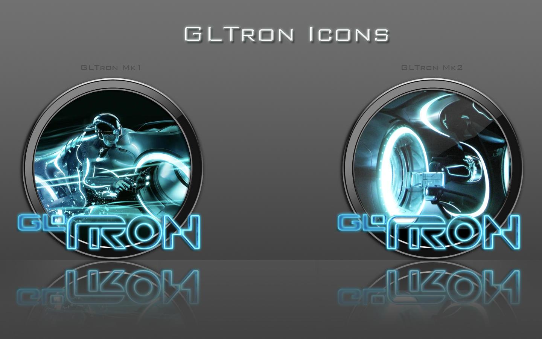 GLTron Icons by zahnib