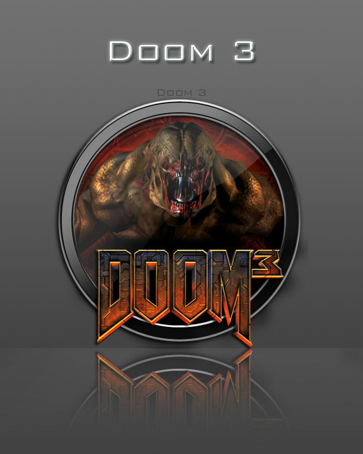 Doom 3 Icon by zahnib