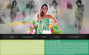 Shay Mitchell header (.PSD) by Classy-Annie