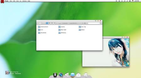 Mac Os theme: Lion X by tichchu2203