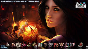 Alice: Madness Returns icon Set