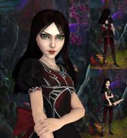 Alice: Black Red skin