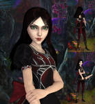 Alice: Black Red skin