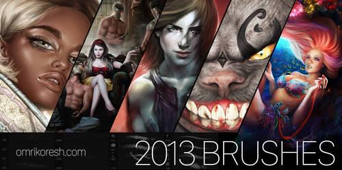 Omri's Brushes 2013 by OmriKoresh