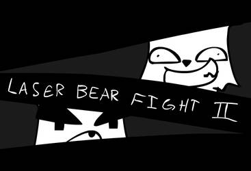 LASER BEAR FIGHT II by DeathByStraws