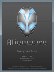 Alienware Energized - Icon by Fox-Future-Media